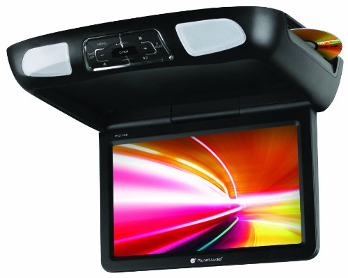 planet audio p12 1es overhead dvd player with monitor. Black Bedroom Furniture Sets. Home Design Ideas