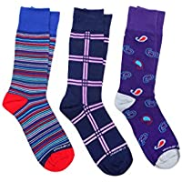 3-Pack: Unsimply Stitched Men's Dress Socks