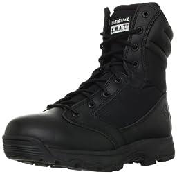 Original S.W.A.T. Men\'s WinX2 8-Inch Side-Zip Tactical Boot, Black, 13 D US