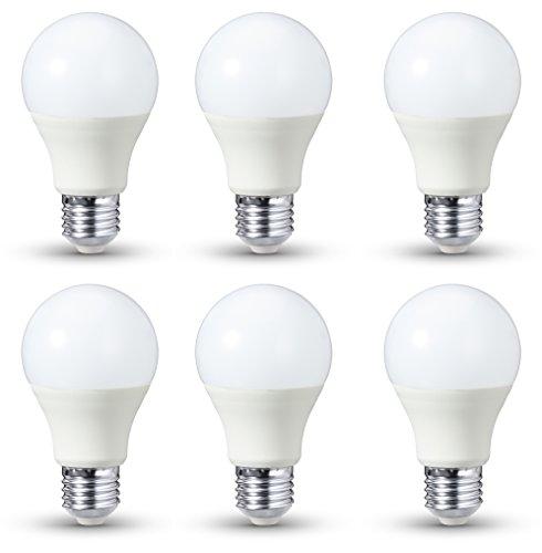 AmazonBasics LED-E27, 14 W mit einer Leuchtkraft von 100 W, 1521 Lumen, Nicht dimmbar, 6er-Pack