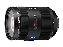Sony 24 -70mm f/2.8 Carl Zeiss Vario Sonnar T Zoom Lens for Sony Alpha Digital SLR Cameras (Black)
