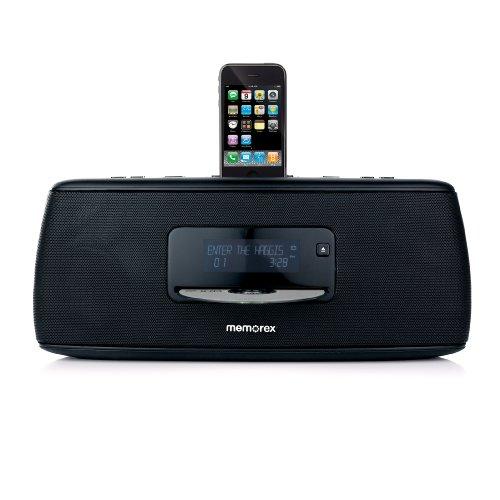 Memorex MI9490P-BLKUK HiFi CD/iPod Sound System
