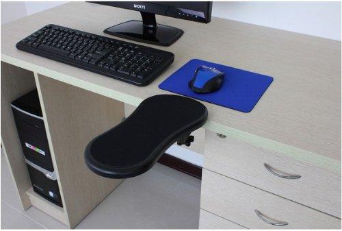 Ergonomic, Adjustable Computer Desk Extender Arm Wrist Rest Support