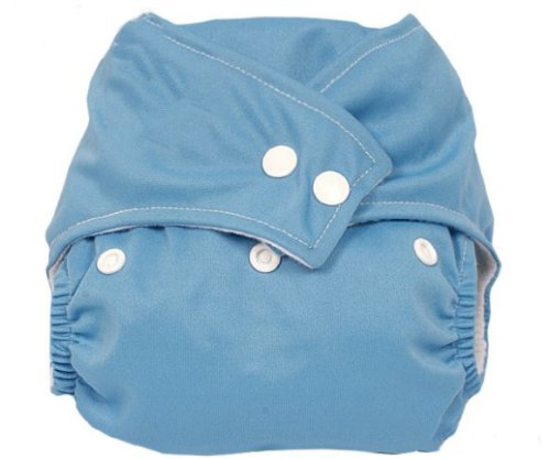 niceeshop(TM) Press Button Adjustment Washable Baby Cloth Diapers-Blue