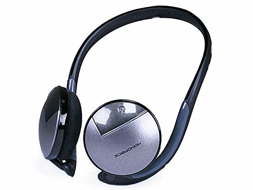 Monoprice Bluetooth Wireless Stereo Headset - Gray