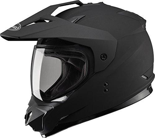Gmax GM11D Dual Sport Full Face Helmet (Flat Black, Small) (Gmax Modular Helmet Small compare prices)