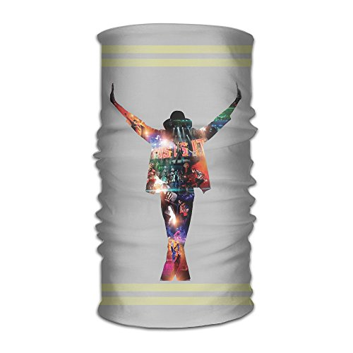 MIT5 King Of Pop Michael Headdress Cancer Patient Motorcycle Walking Skiing Hiking Running (Michael Jackson Billie Jean Outfit)