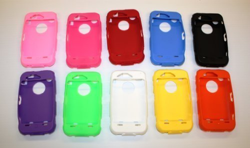 10 Silicone Color Covers Compatable with Otterbox Defender Case 3g, 3gs