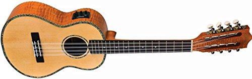 Lanikai Legacy Collection Spruce Ukulele - 8-String Ac/Elec Tenor