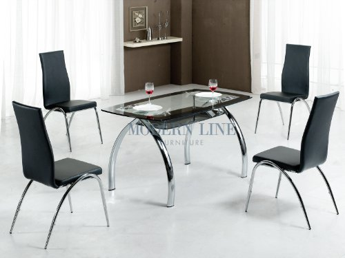 Buy low price modern line furniture modern tinted tempered for Modern line furniture
