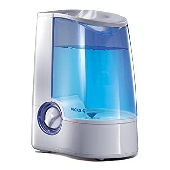 Vicks Warm Mist Humidifier with Auto Shut-Off, 1 Gallon, Model V745A