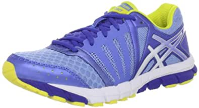 ASICS Women's GEL-Lyte33 2 Running Shoe,Periwinkle/White/Sun,5 M US