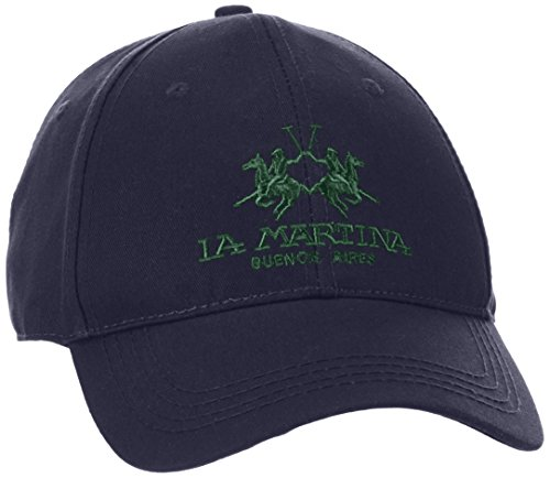 la-martina-herren-baseball-cap-twill-blau-navy-07017-one-size-herstellergrosse-tu