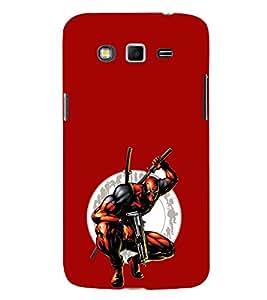 EPICCASE Deadpool Mobile Back Case Cover For Samsung Galaxy Grand (Designer Case)