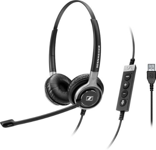 Sennheiser Century Sc 660 Usb Ml Premium Dual-Sided Wired Headset (504553)