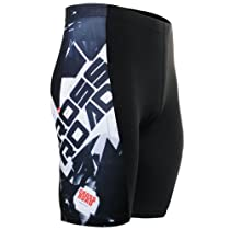 Fixgear Mens bike clothing Tight cycling Bike Gel Padded Shorts S