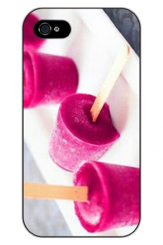 Sprawl New Fashion Design Hard Skin Case Cover Shell For Mobilephone Apple Iphone 5 5S--Lovely Rose Red Ice Cream