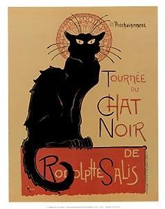 Theophile Steinlen Tournee du Chat Noir Art Print Poster - 11x14
