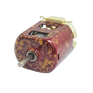 23500RPM 3V High Speed Magnetic Electric Miniature DC Motor Red from Amico