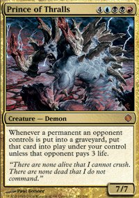 Magic: the Gathering - Prince of Thralls - Shards of Alara
