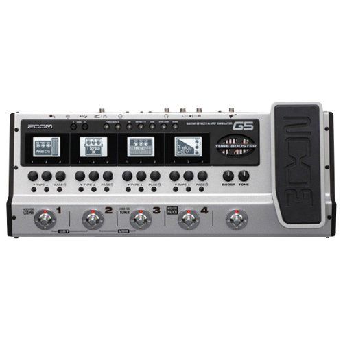 ZOOM G5 Guitar Effects Amp Simulator (Japan Import)