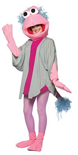 Women's Costume: Fraggle Rock Mokey- One Size (Fraggle Costume)