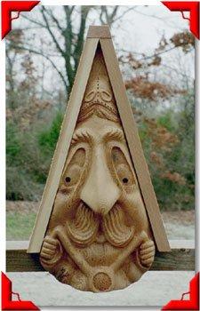 Gnome Birdhouse - Motorcycle Guy