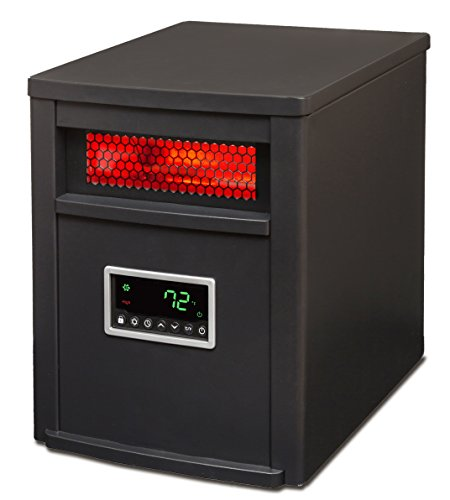 Lifesmart Large Room 6 Element Infrared Heater w/Remote (Life Infrared Heater compare prices)