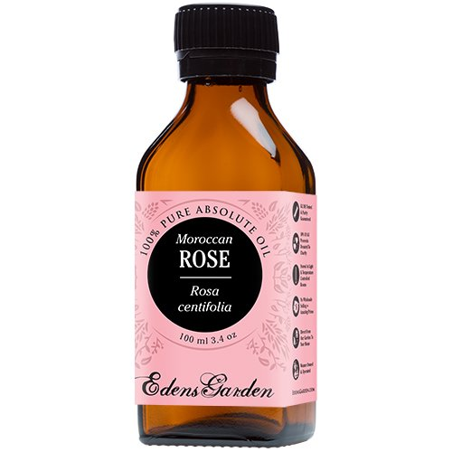 Rose (Moroccan) 100% Pure Therapeutic Grade Absolute Oil by Edens Garden- 100 ml