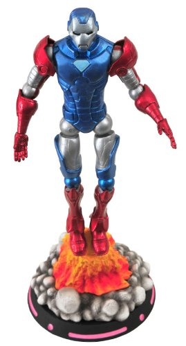 Picture of Diamond Select BBTS Exclusive Marvel Select Iron Cap Figure (Steve Rogers in Captain America Iron Man Armor) (B002SJVJ8I) (Iron Man Action Figures)