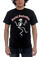 Social Distortion - - Skelly Herren Kurzarm T-Shirt in schwarz