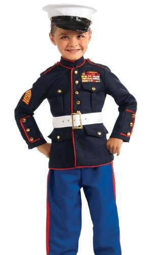 Young Heroes Marine Dress Blues Costume