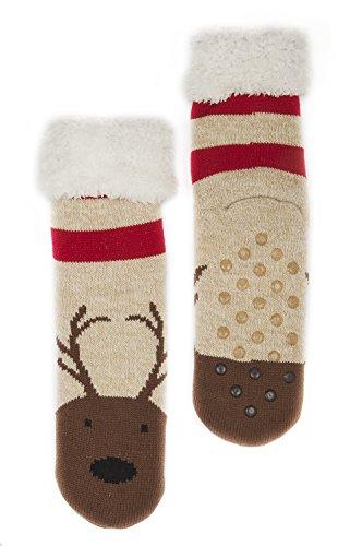 Animal Socks for Christmas - Reindeer Socks