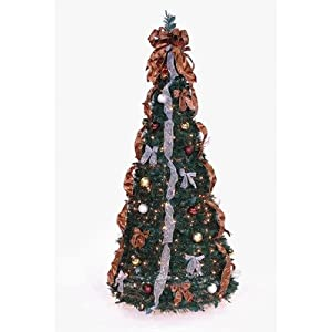 #!Cheap Pop Up Tree in Bronze / Gold