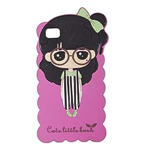 Cute Little Bush Soft Silicone back Case Cover For XIAOMI Redmi MI3 With Free OTG Cable