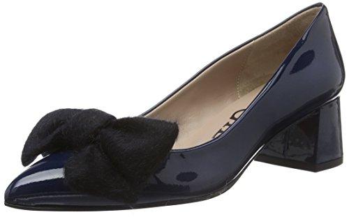 Paco GilP3113 - Scarpe con Tacco Donna , Blu (Blu (Marine)), 37 EU