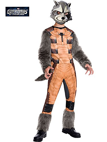 Rocket Raccoon Deluxe Kids Costume