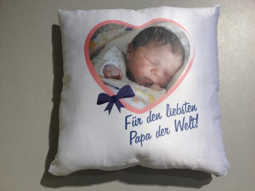 Fotokissen Kissen mit Foto bedruckt beste Qualität,Geschenk