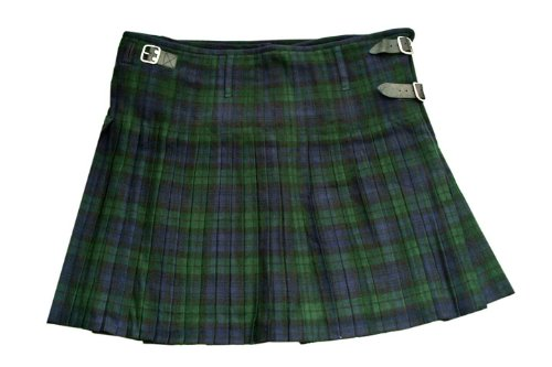 Szco Supplies Black Watch Plaid Kilt, Size 32