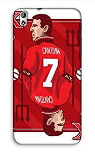 HTC Desire 816 G Manchester United Football Club Design Back Cover - Printed Designer Cover - Hard Case - HTCD816GCMBMUFC0188