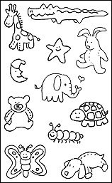 Pen & Ink - Stuffed Animals