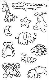 Pen & Ink - Stuffed Animals