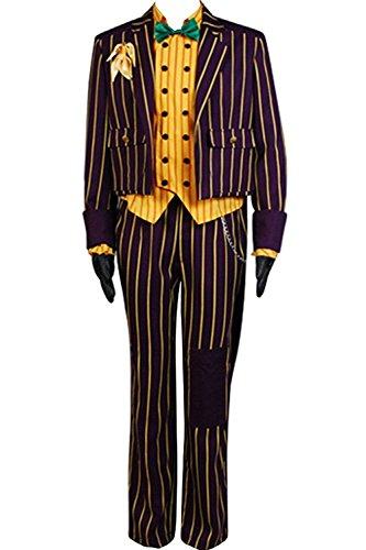 [Dben Asylum Joker Coat Suit Cosplay Costume] (Malcolm Merlyn Costume)