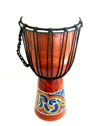 Djembe Drum African Bongo Drum Hand Drum LARGE SIZE 16