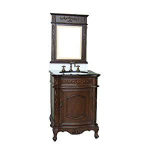 "24"" Powder Room Special - Debellis Bathroom Sink vanity BWV-047M"