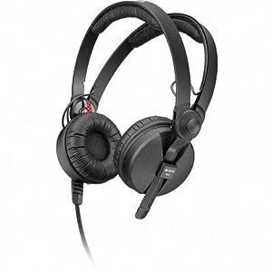 Sennheiser HD 25 Basic Edition, Closed Headphone for ENG/DJ use with split headband