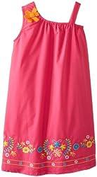 Younghearts Little Girls' Rosette Dress