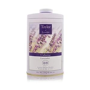 Calming Lavender by Taylor of London 8.8 oz Luxury Talcum Powder