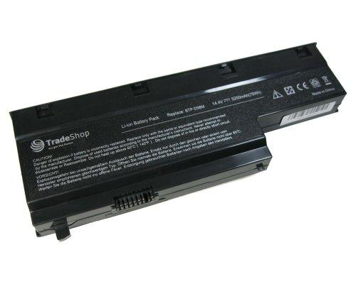 Hochleistungs Notebook Laptop AKKU 5200mAh für Medion Akoya Akoya P7615 P7618 E7214 E7216 MD97476 MD98360 MD98410 MD98550 MD98580 P-7615 P-7618 E-7214 E-7216 MD-97476 MD-98360 MD-98410