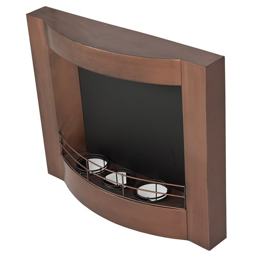 Best Choice Products® Oil Rubbed Bronze Gel Fuel Wall Mount Fireplace Fire Place